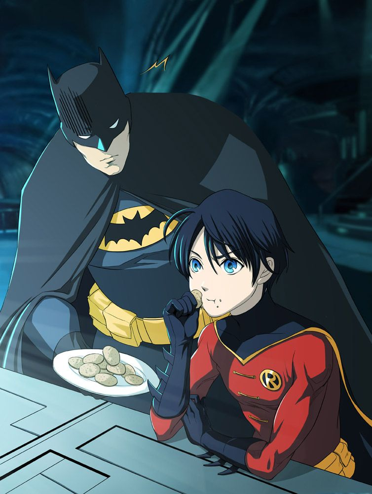 midnight snack in the batcave by f19850928 on DeviantArt