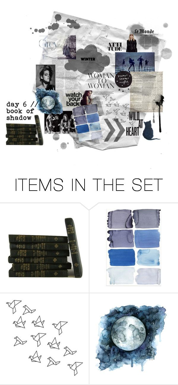 """book of shadow"" by suchajocundcompany ❤ liked on Polyvore featuring art, grey, mori and witch"