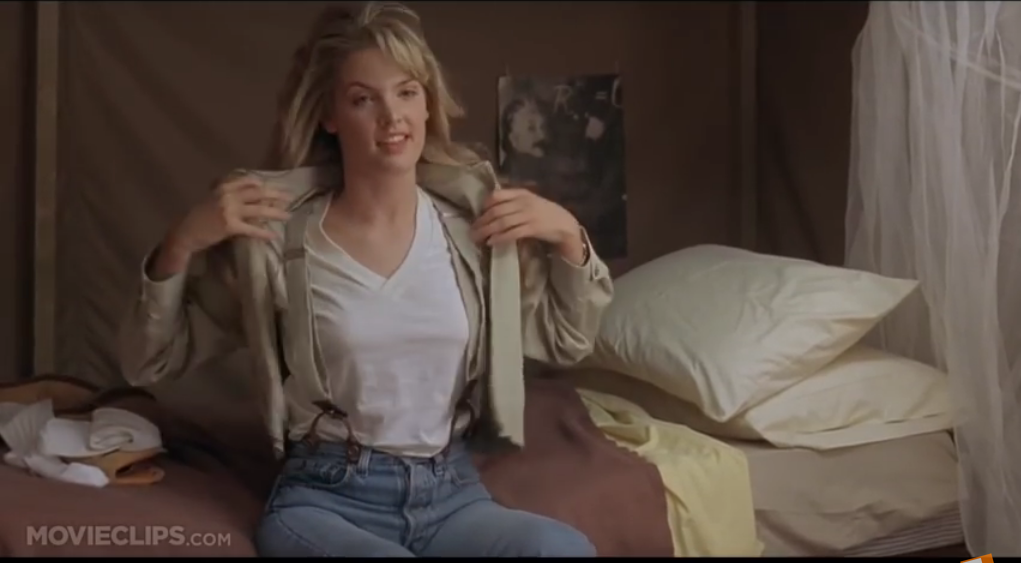 Bridgette Wilson With Suspenders In-1341