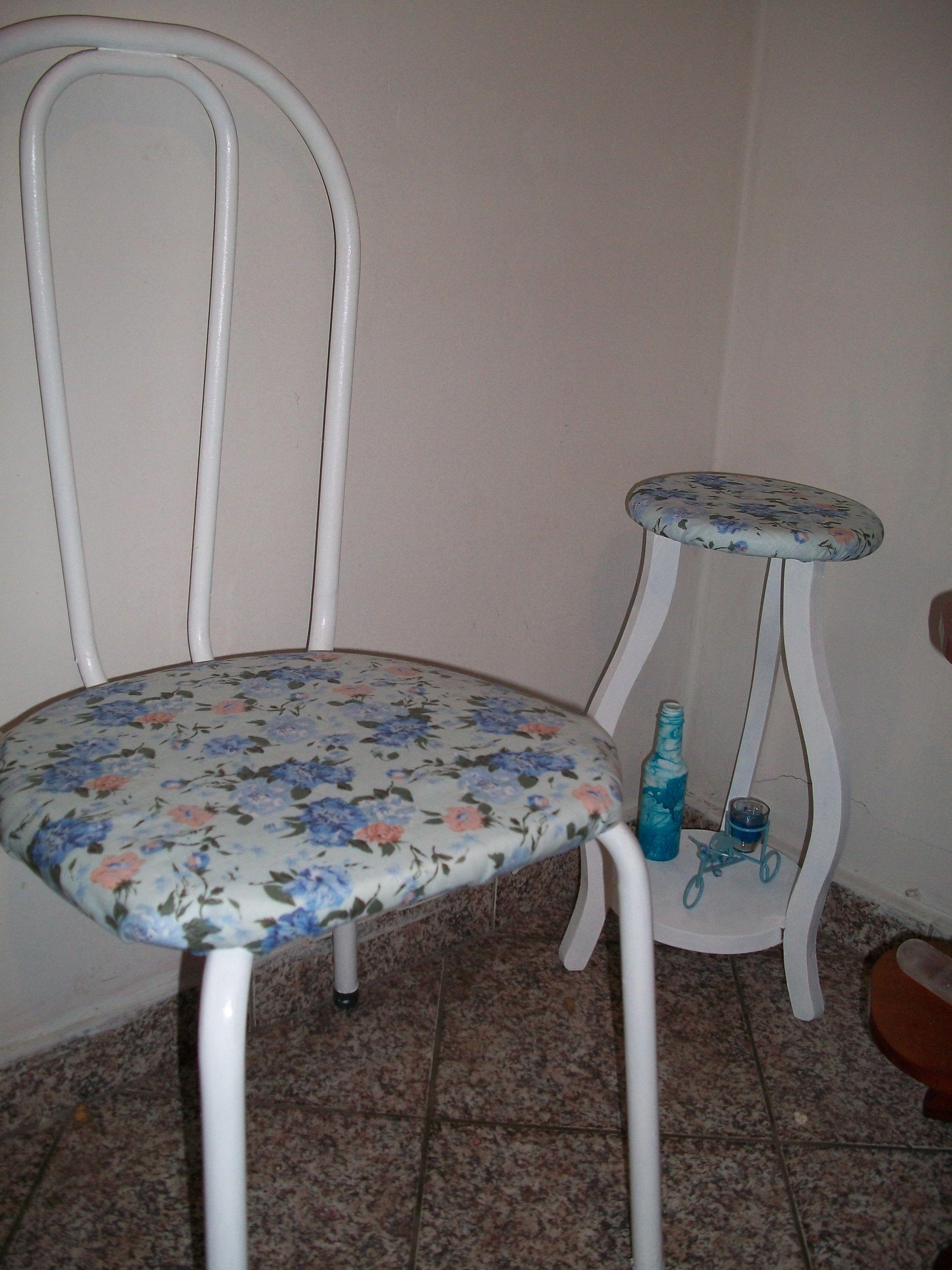 Minha Cadeira e Meu Banquinho