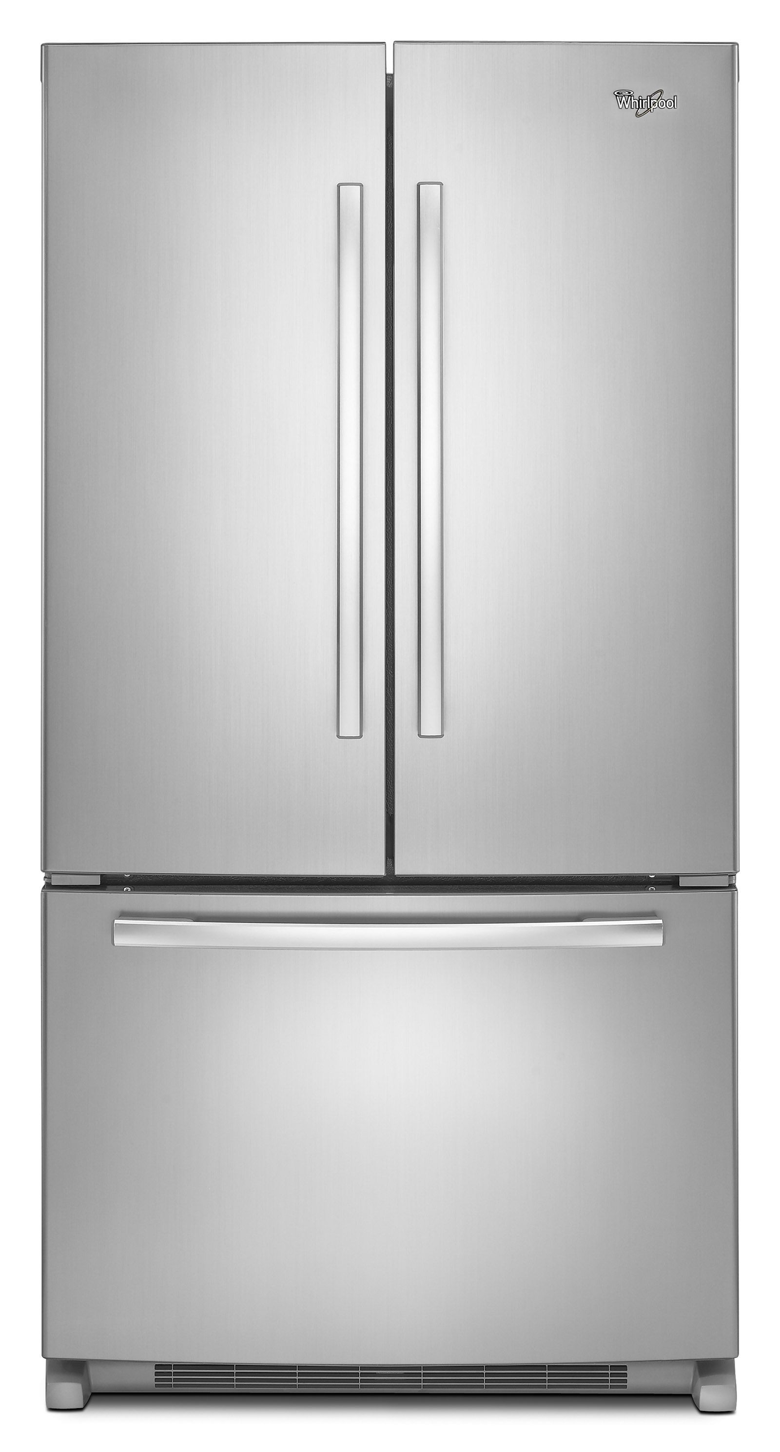 Whirlpool 20 Cu Ft Counter Depth French Door Refrigerator W