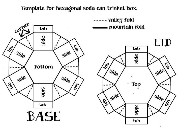 Image result for tutoriales explosion box hexagon