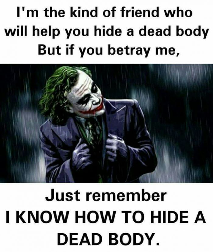 Yep Thats What Best Friends Are For Quotes Joker Wallpapers