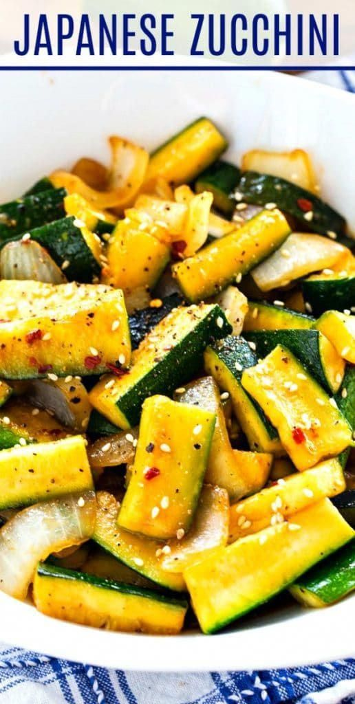 Japanese Zucchini - Spicy Southern Kitchen