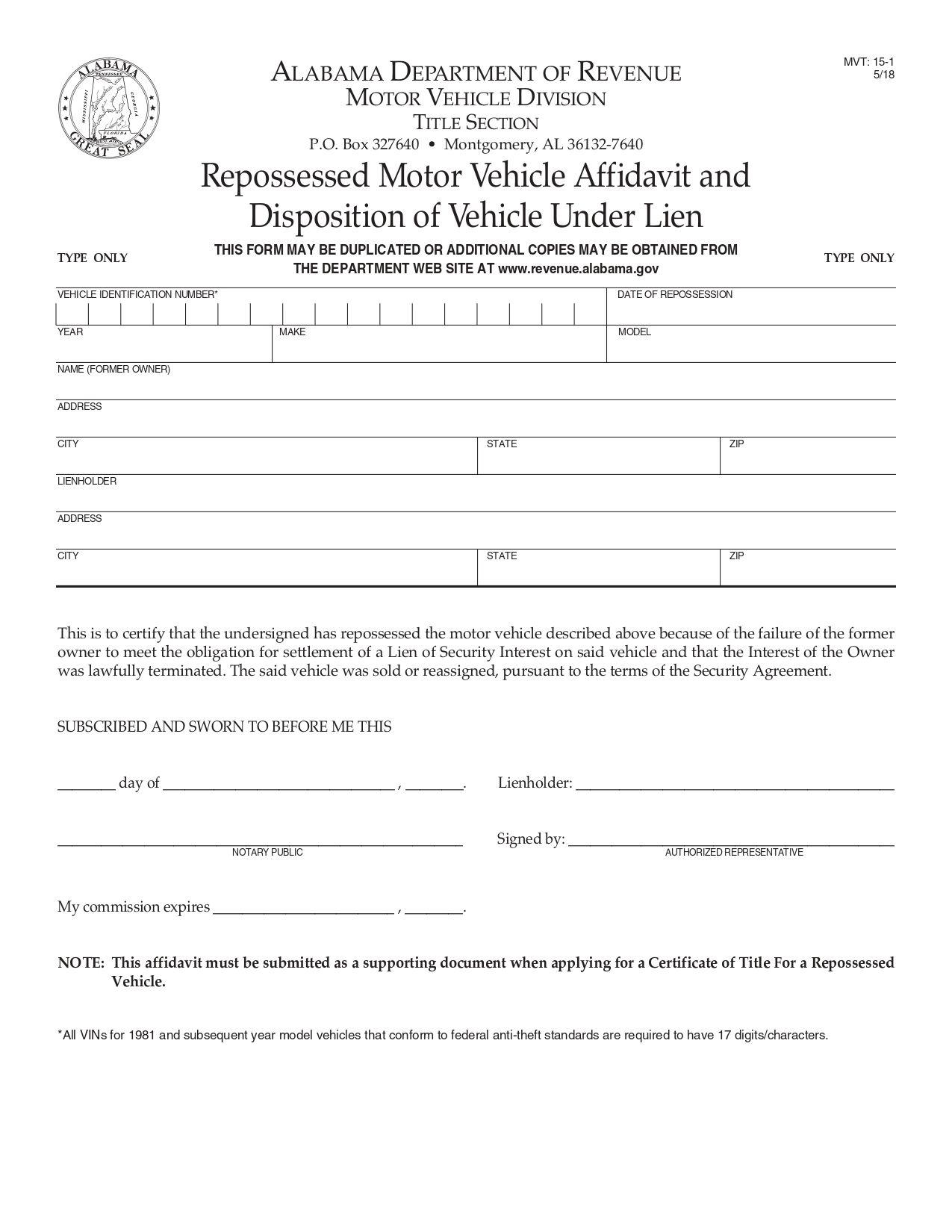 Get A Replacement Car Title Car title, Motor car