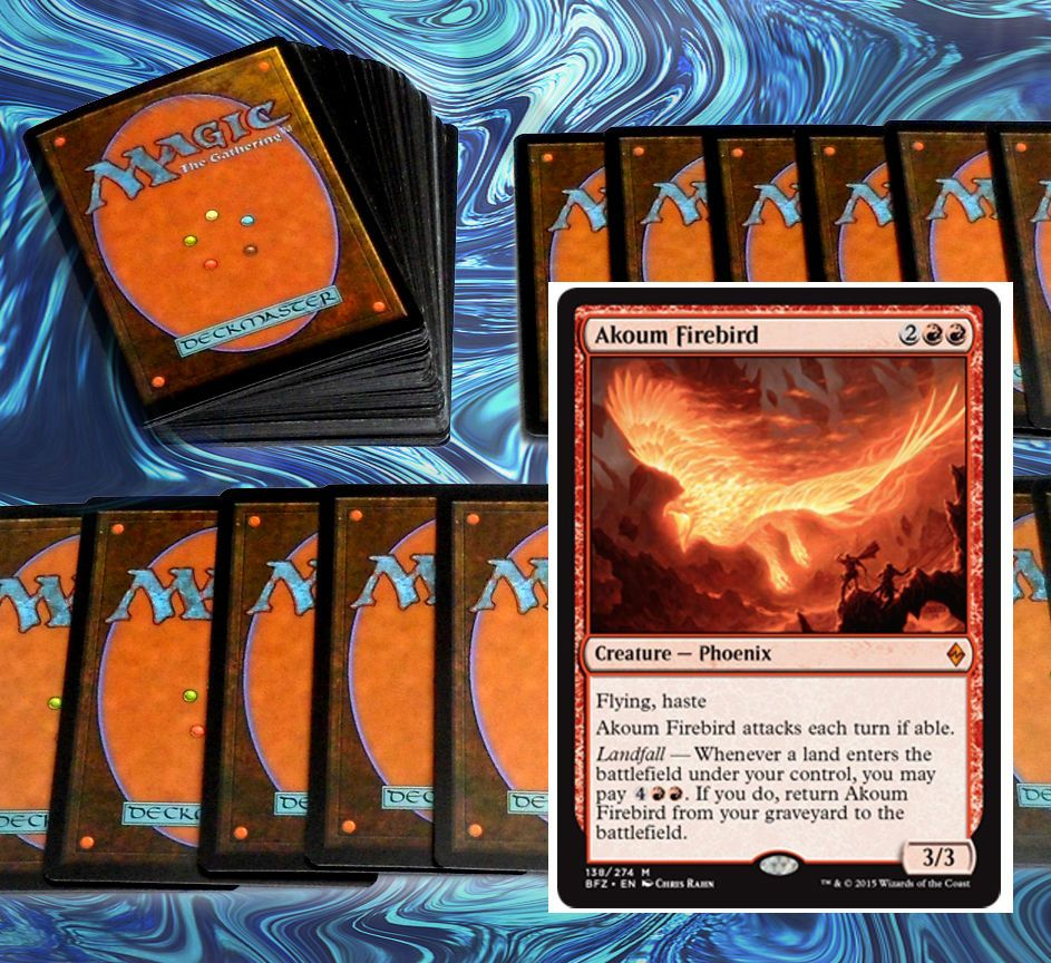 Fun Budget Red Haste Magic The Gathering Card Theme Deck 75 Total Cards 60  Cards With Images Of How To Build