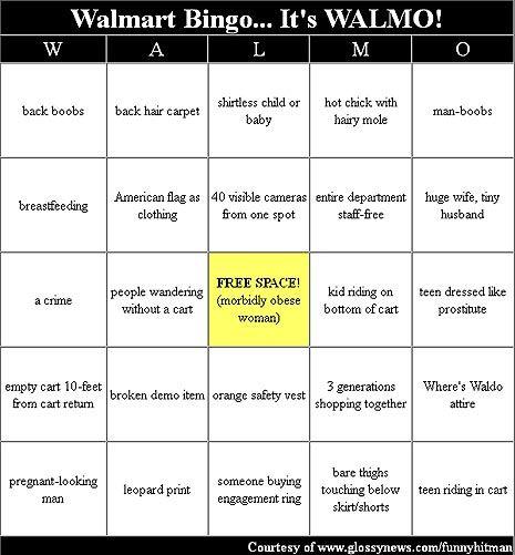 Free Walmart Bingo Generator Game Released Glossynews Com Walmart Bingo Humor