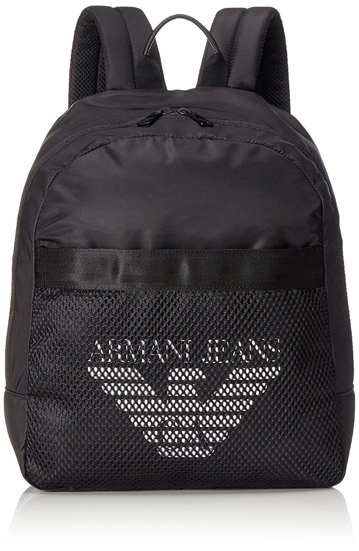 151bd9b8fdcb Armani Jeans 932123 7P917 AJ Backpack Black Bag