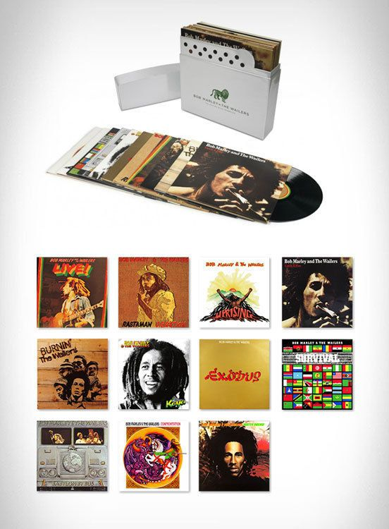 Bob Marley The Complete Island Recordings 12 Lp Vinyl Box Set Brand New Vinyl Brand Recordings Island Complete Marley Bob Marley Marley Vinyl