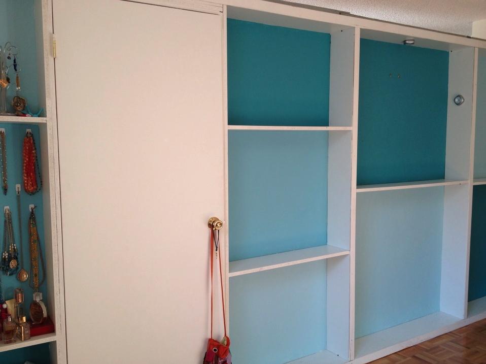 Bookshelf Wall Example Wall bookshelves, Portable walls