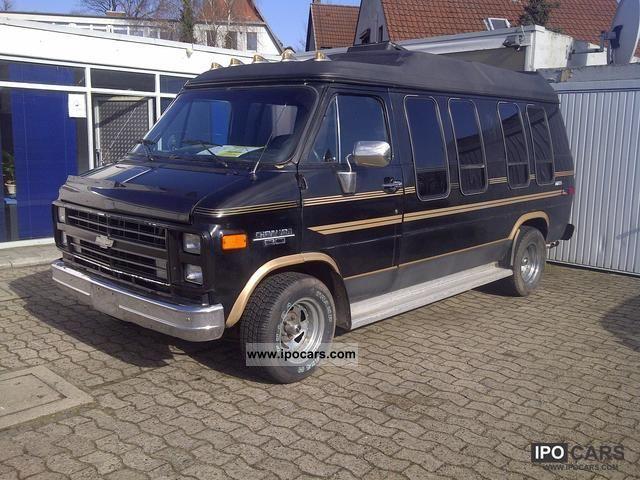 Van Models 1987 Chevrolet Chevy Van G20 With 2 Years Tuv Van
