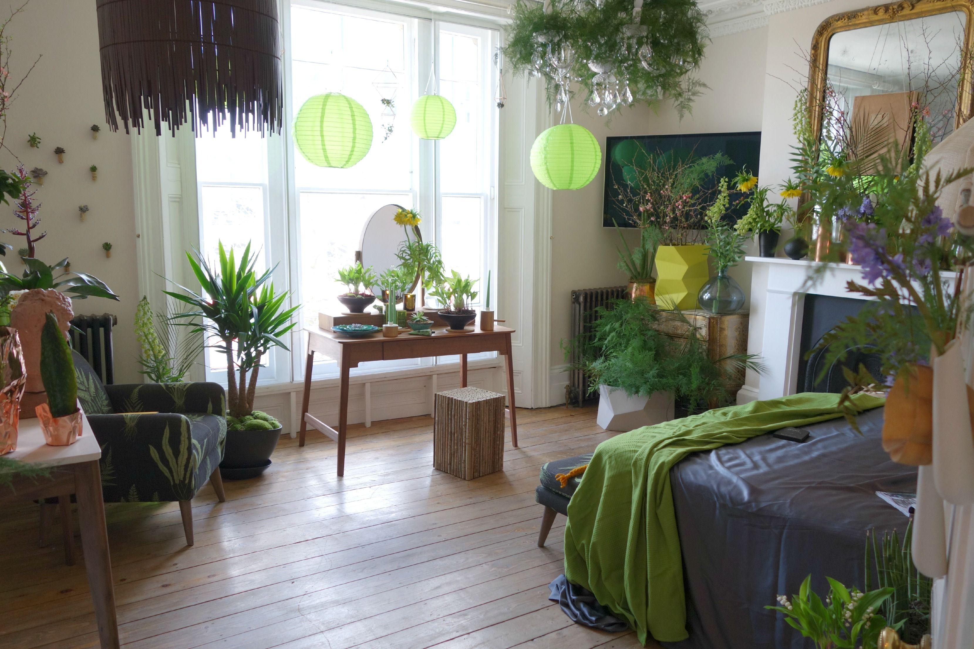 Simple Schlafzimmer Mit Pflanzen on Small Home Remodel
