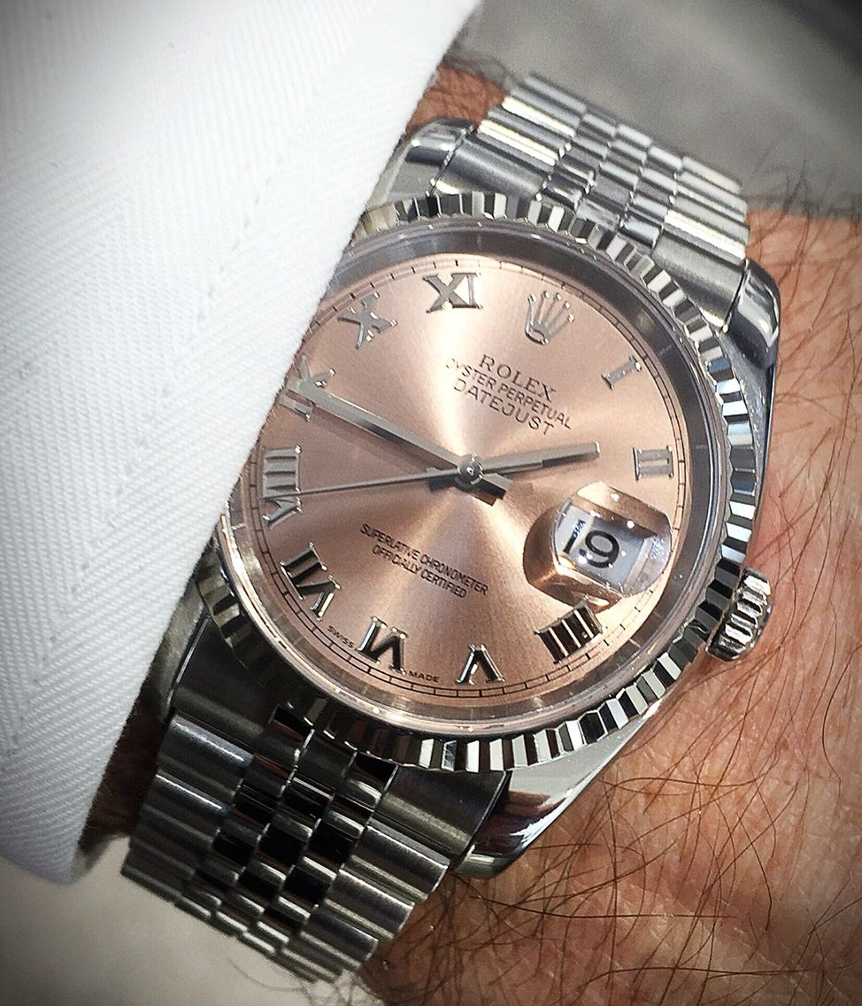 Rolex Datejust Luxury watches Rolex datejust, Rolex
