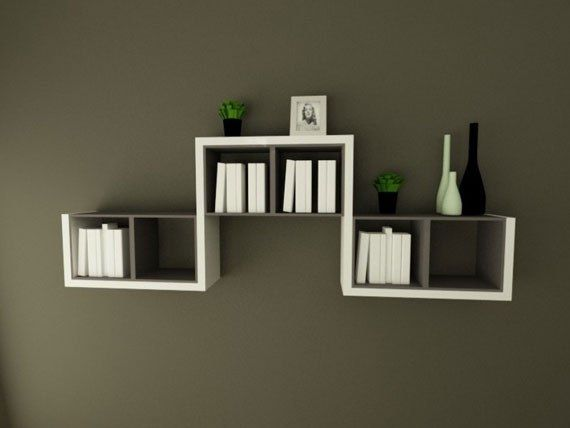 Wall Shelf In Simple And Minimalist4 26 Of The Most Creative Bookshelves Designs