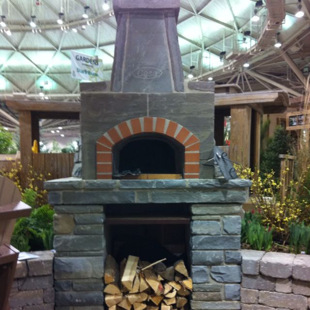 Pizza Oven At Minneapolis Home And Garden Show Bever