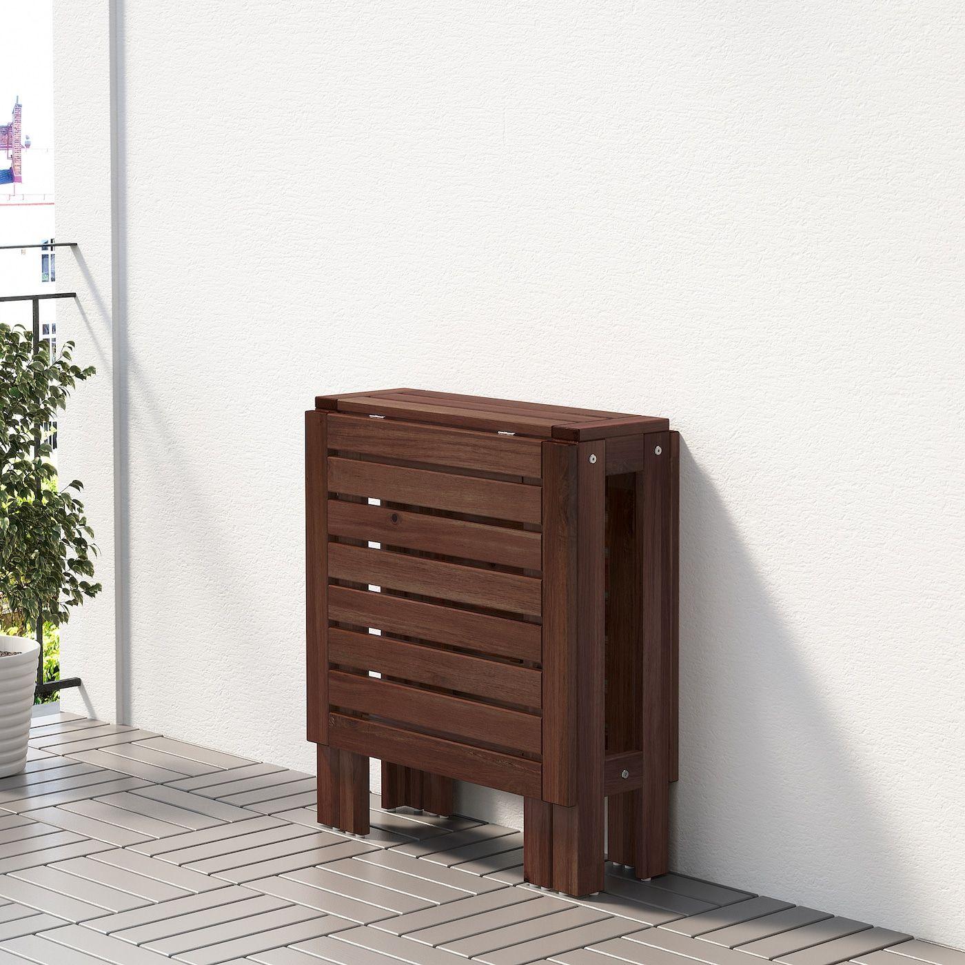 Applaro Mesa Plegable Jardin In 2020 Holzbeize Ikea Applaro Und