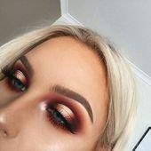 HaloAuge – Make Up Tipps HaloAuge #augen #makeup Dieses Bild hat 158 Wiederholungen …