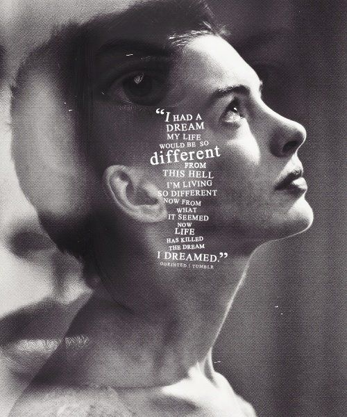 Les Miserables I Dreamed A Dream By Anne Hathaway Blew Me Away