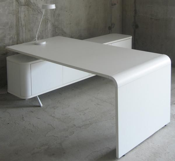 Form Office Desk With Return