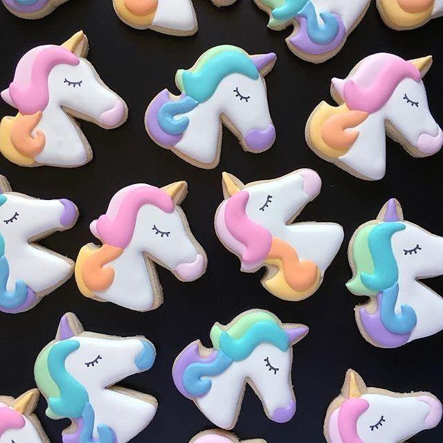 Unicorn cookies!