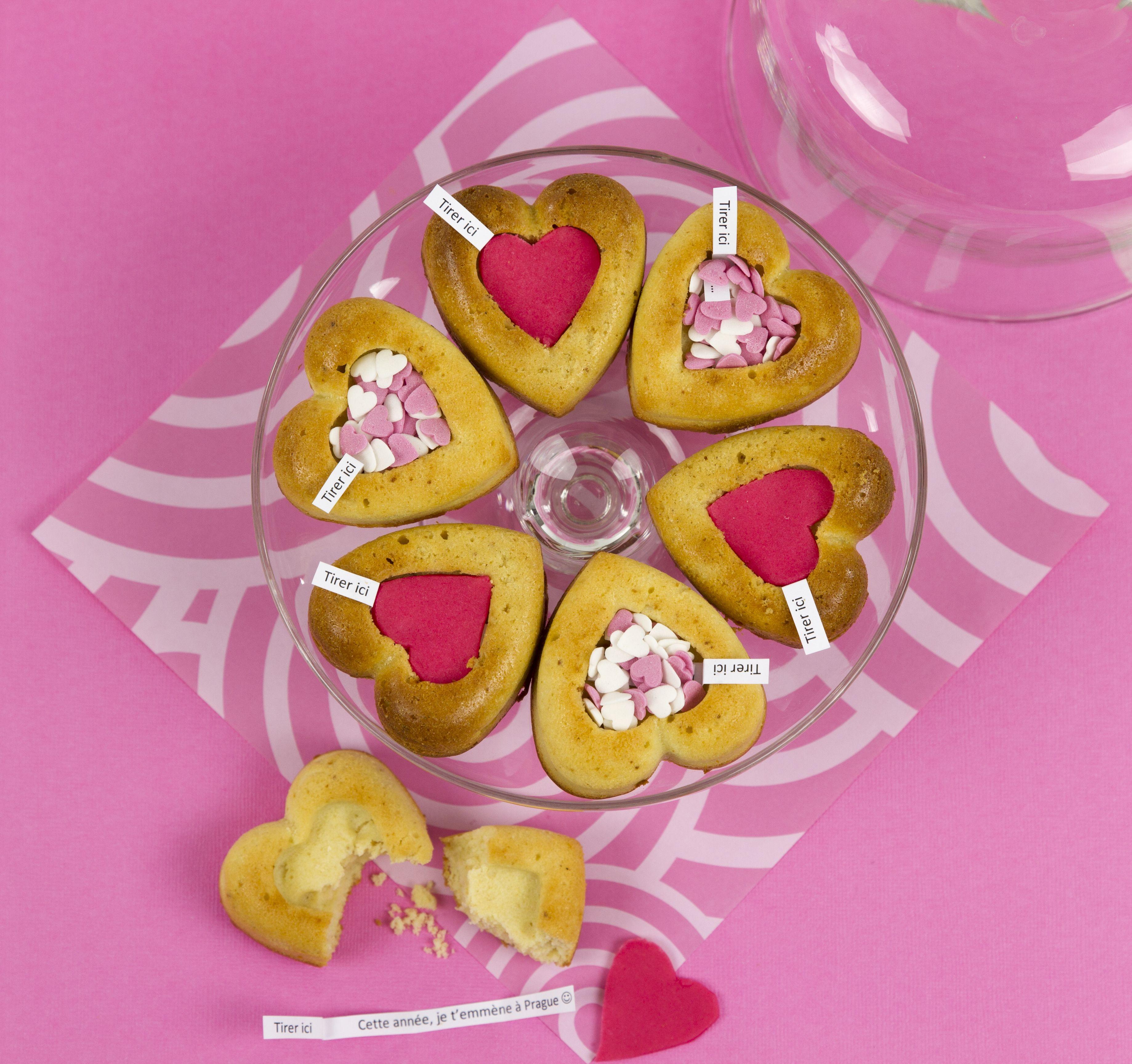 #DIY Saint-Valentin : Gâteaux à messages