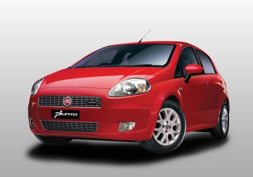 Fiat Grande Punto Front Angle High View Exterior Photo