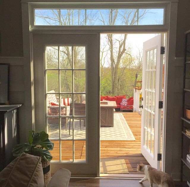 Replace Slider With French Doors