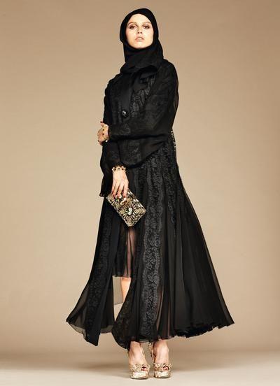 eaebfc47d1e20a Dolce   Gabbana a dévoilé des images de sa nouvelle collection d abayas