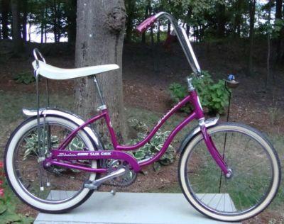 Schwinn 1967 slik chik stingray bicycle-100 % original dec