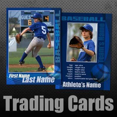Pin On Diy Baseball Card Template