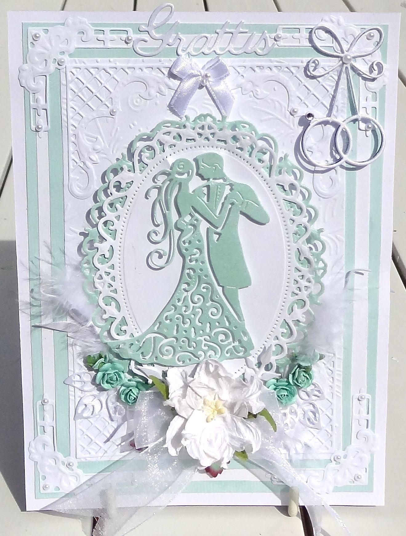 grattis brudpar Ett Grattis kort till ett brudpar. Har använt mig av följande  grattis brudpar