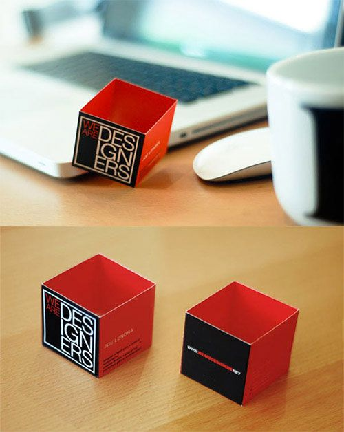 20 unusually creative examples of business card designs - Business Cards Ideas Designs
