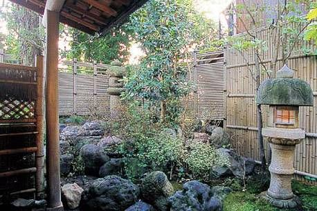 Attractive Bamboo Panel Fence