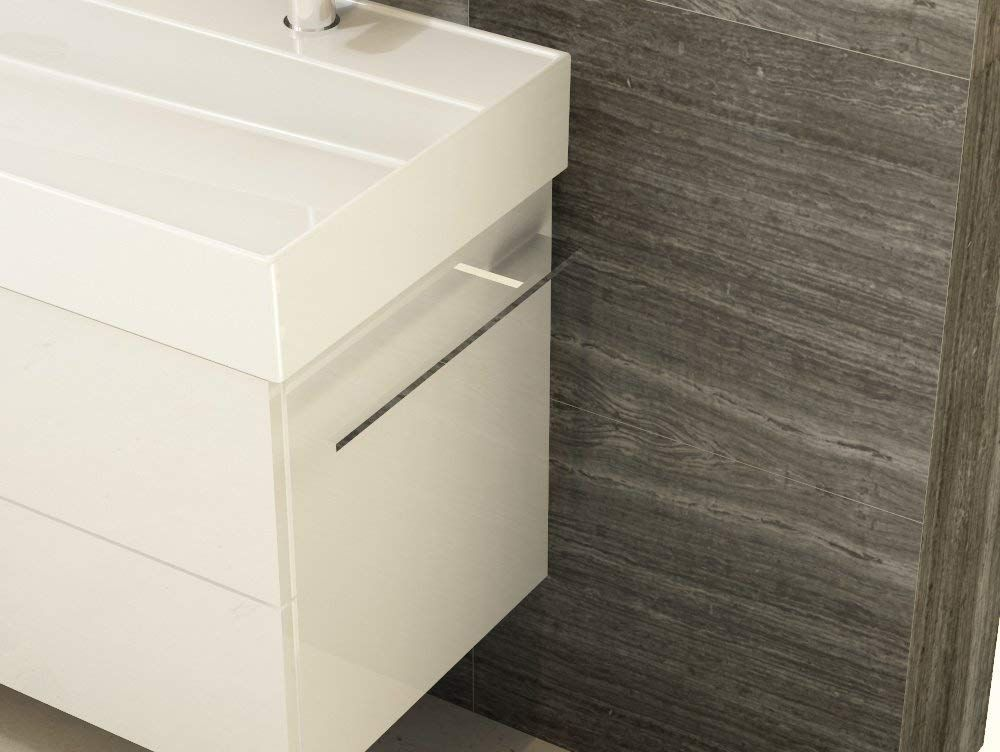 Aqua Bagno Design Handtuchhalter, zur Korpusmontage, Chrom