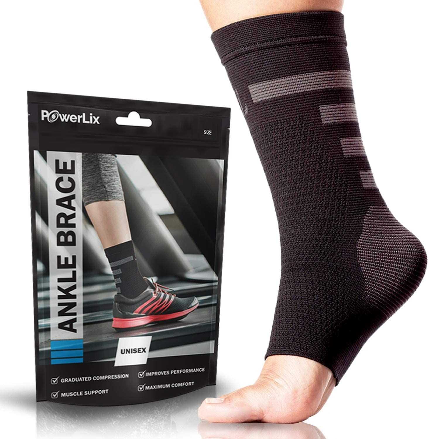 Ankle brace compression support sleeve in 2020 knee