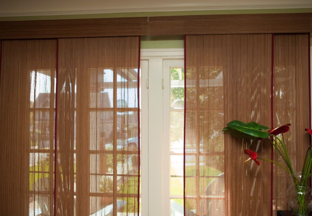 Patio Door Window Treatments Ideas Magnificent Interior