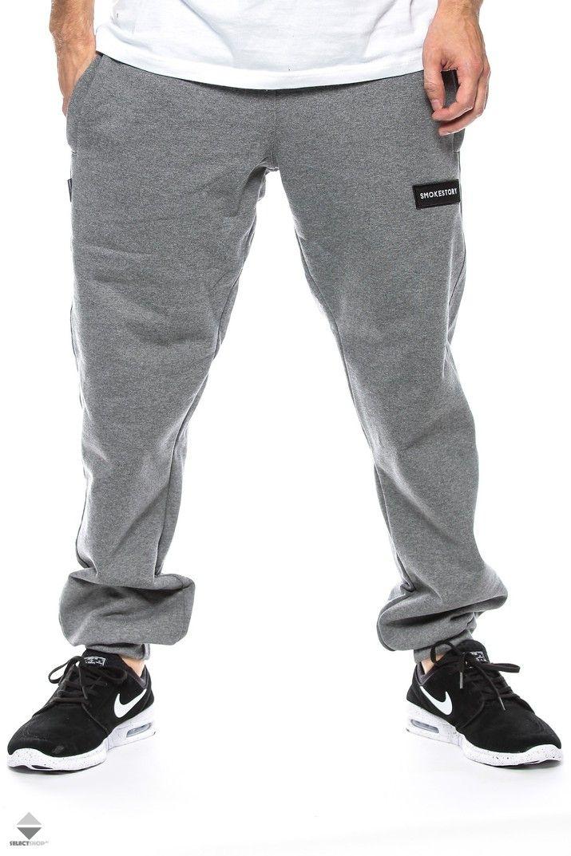Spodnie Ssg Smoke Story Group Ssg Smokestory Regular Grey Mens Outfits Ssg Kr3w