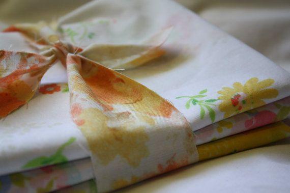 Reclaimed Bed Linen Fabric Bundle