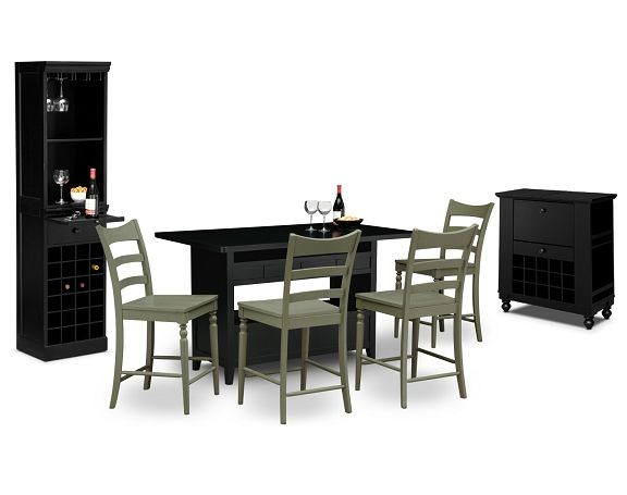Carnival Island Dining Room Collection   Value City Furniture Island $369.99