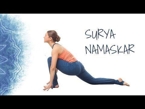 here's how to do surya namaskar stepstep 12 poses of