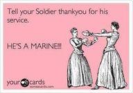 He's a Marine!