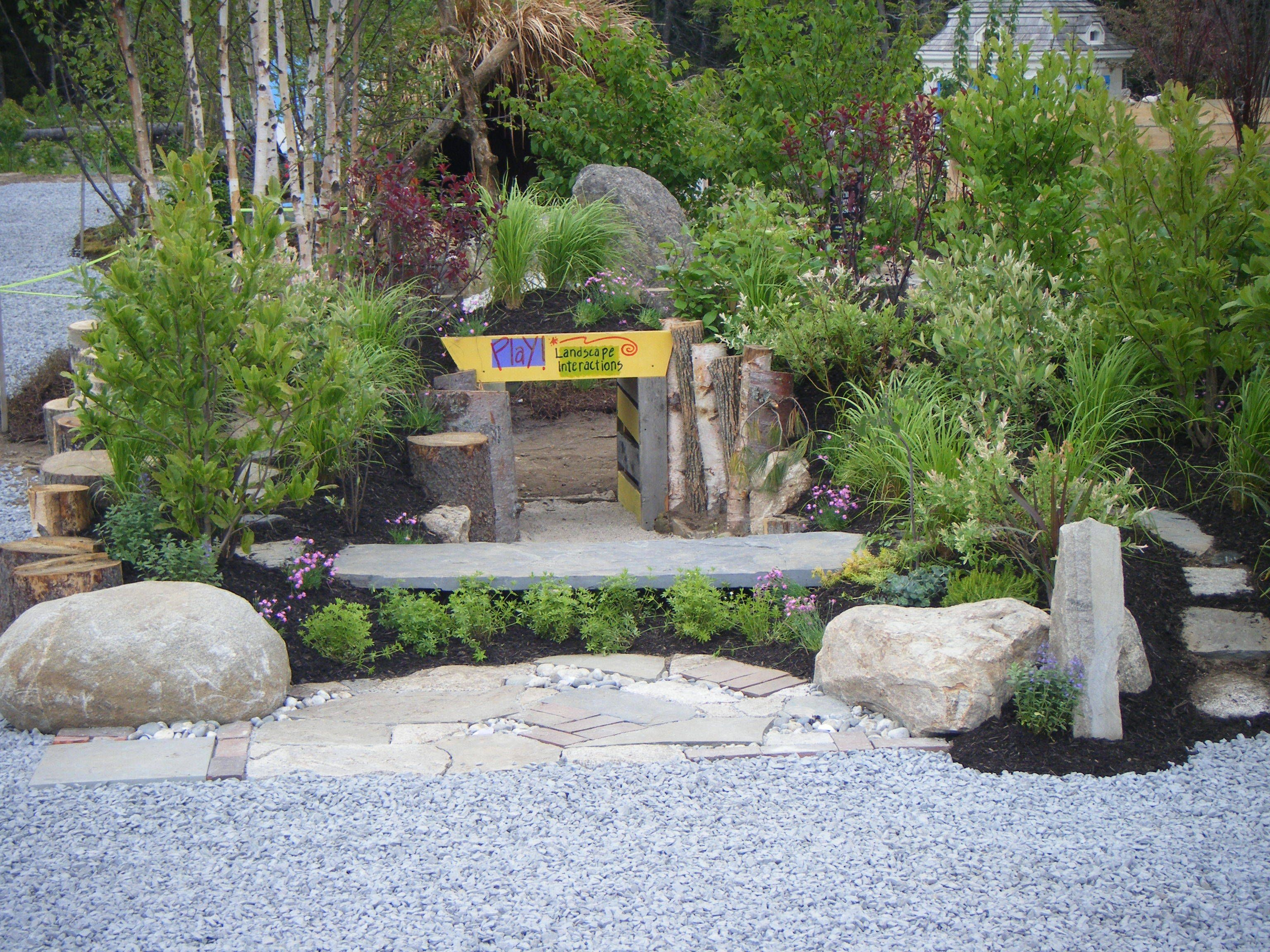 Garden ideas for children - Great Hardscape Ideas Hardscape For Children