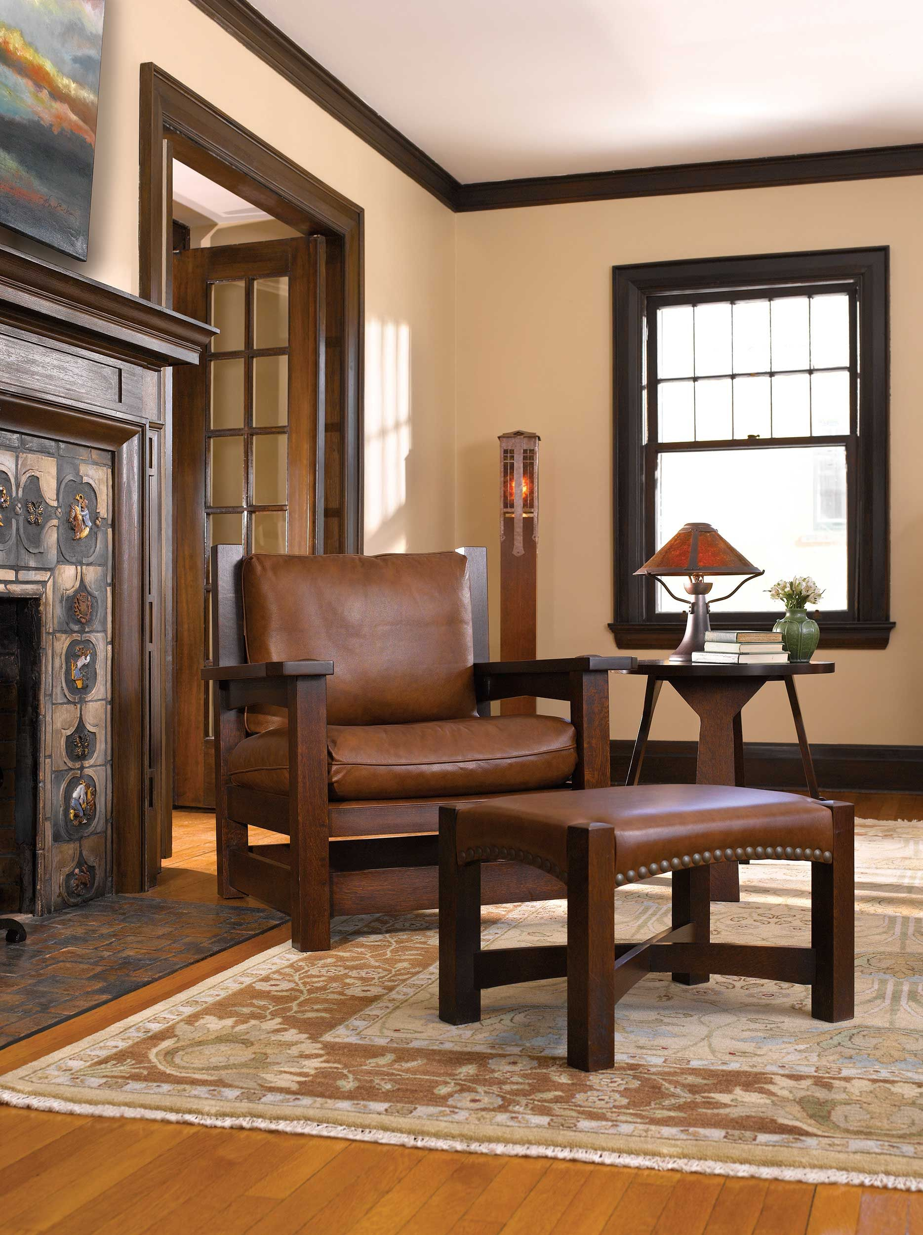 Stickley Eastwood Chair And Ottoman The Mission Home