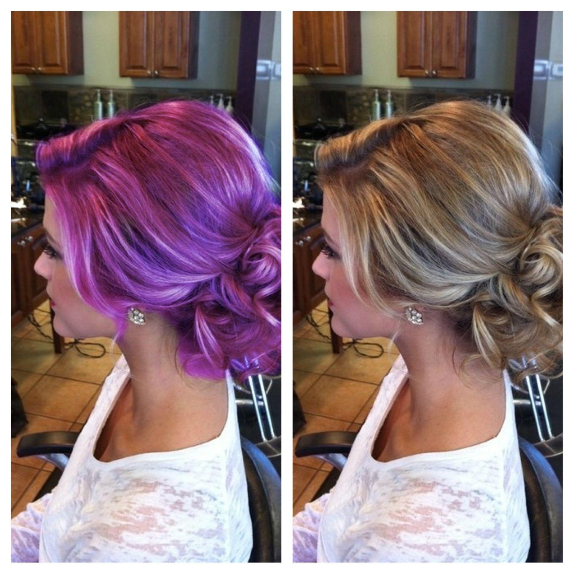what the??? same one, different hair color.. | hair | pinterest
