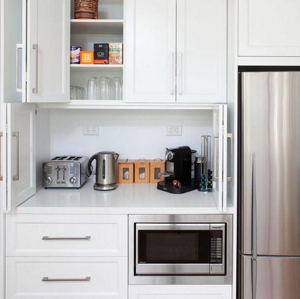 Creative Appliances Storage Ideas For Small Kitchens Hranenie