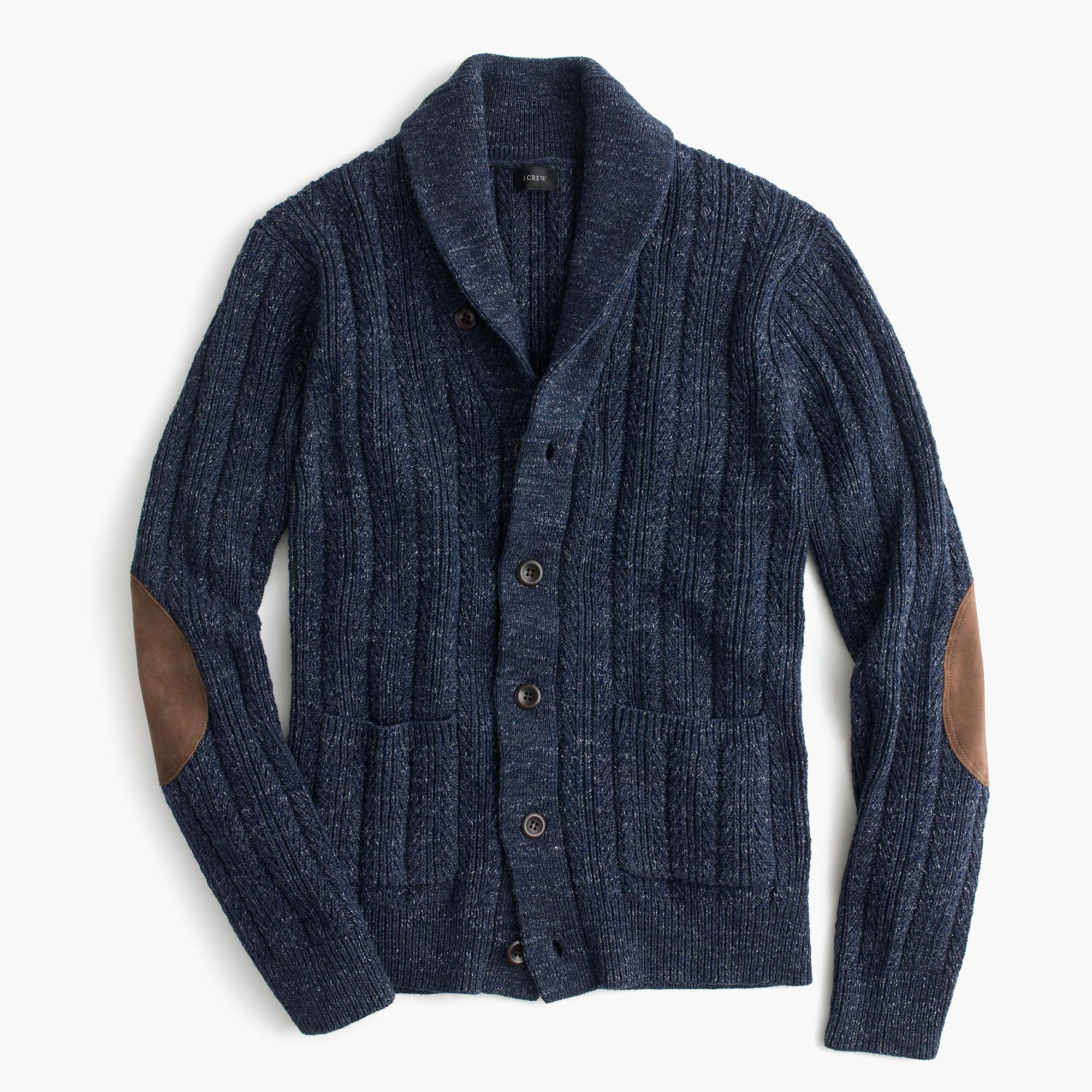 Cotton mariner shawl-collar cardigan sweater : cotton | J.Crew ...