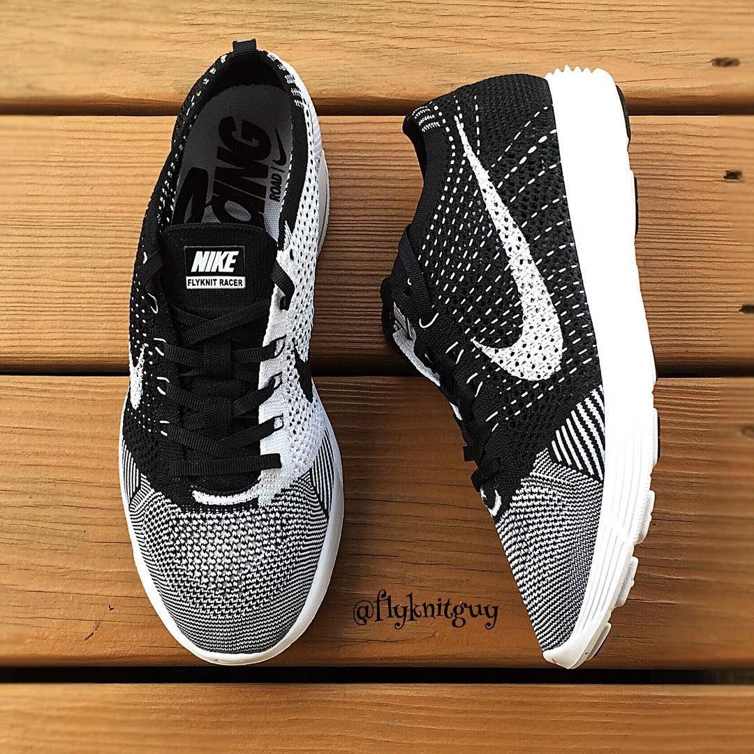 finest selection ffbc6 a7235 Sneakers Nike · Sole · newest kids on the block ⚫ ⚪  Flyknit  SoleSwap   FlyknitRacer