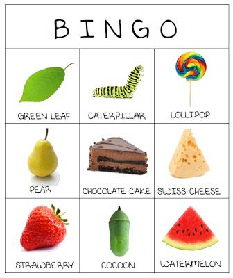 Very Hungry Caterpillar Bingo - printable