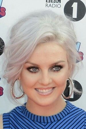 Perrie Edwards white hair