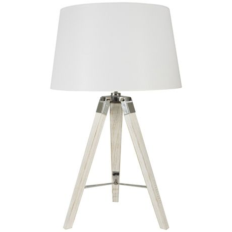 Charming $130 Robust Tripod Table Lamp 72cm H X 35 W | Freedom Furniture And  Homewares